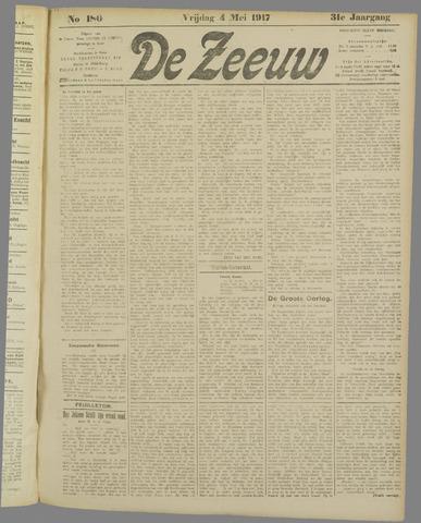 De Zeeuw. Christelijk-historisch nieuwsblad voor Zeeland 1917-05-04