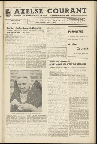 Axelsche Courant 1963-08-10