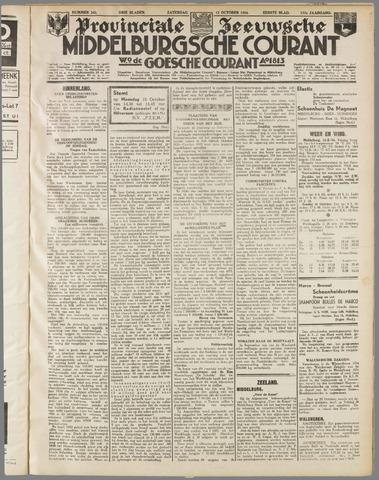Middelburgsche Courant 1934-10-13
