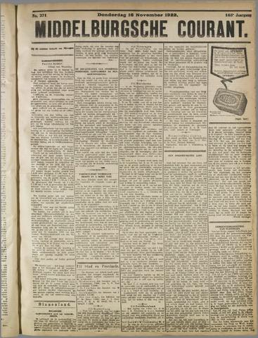 Middelburgsche Courant 1922-11-16