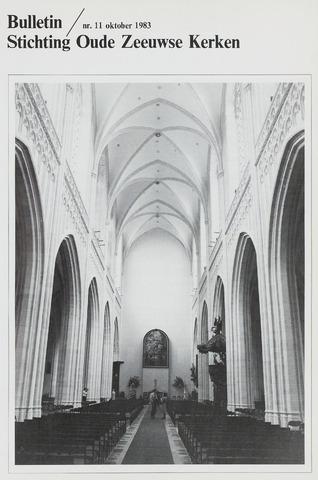 Bulletin Stichting Oude Zeeuwse kerken 1983-10-01