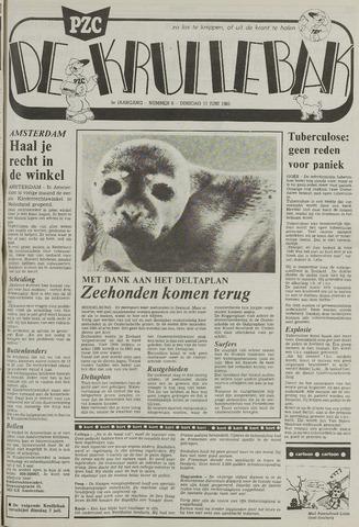 Provinciale Zeeuwse Courant katern Krullenbak (1981-1999) 1985-06-11