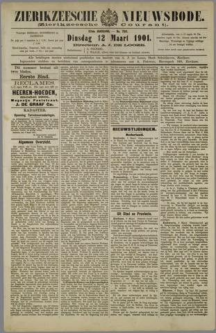 Zierikzeesche Nieuwsbode 1901-03-12