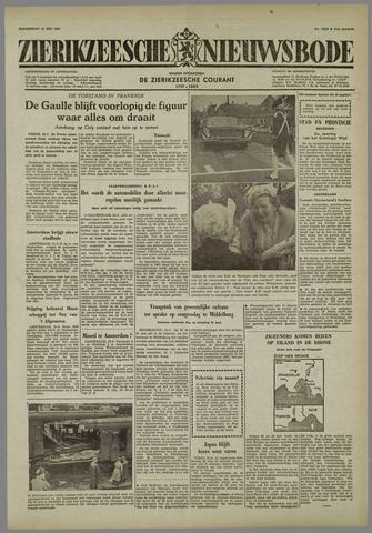 Zierikzeesche Nieuwsbode 1958-05-22