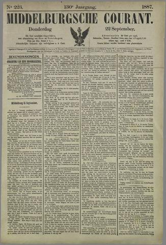 Middelburgsche Courant 1887-09-22