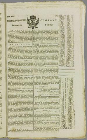 Middelburgsche Courant 1810-10-06