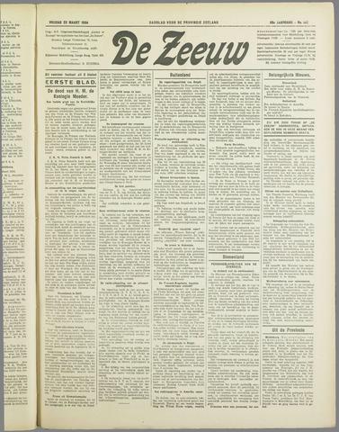 De Zeeuw. Christelijk-historisch nieuwsblad voor Zeeland 1934-03-23