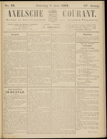 Axelsche Courant 1901-06-08