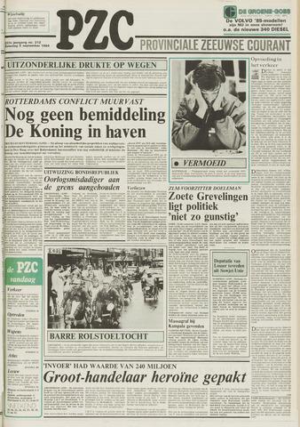 Provinciale Zeeuwse Courant 1984-09-08