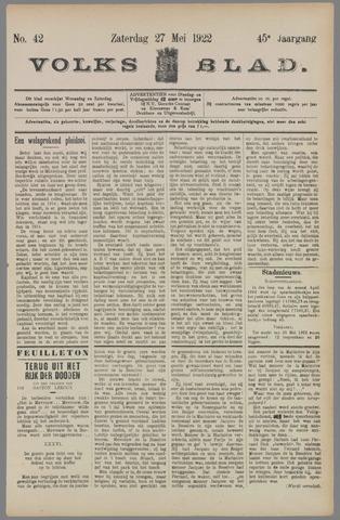 Volksblad 1922-05-27