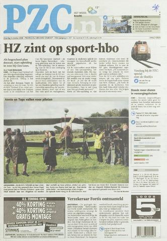 Provinciale Zeeuwse Courant 2008-10-04