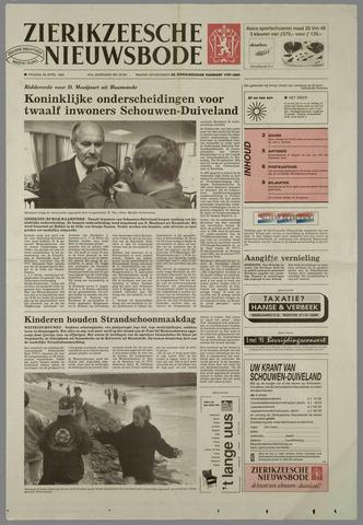 Zierikzeesche Nieuwsbode 1995-04-28