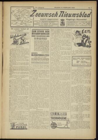 Zeeuwsch Nieuwsblad/Wegeling's Nieuwsblad 1935-02-15