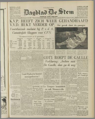 de Stem 1958-05-29