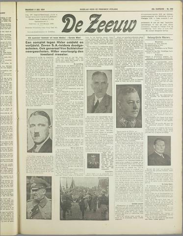 De Zeeuw. Christelijk-historisch nieuwsblad voor Zeeland 1934-07-02