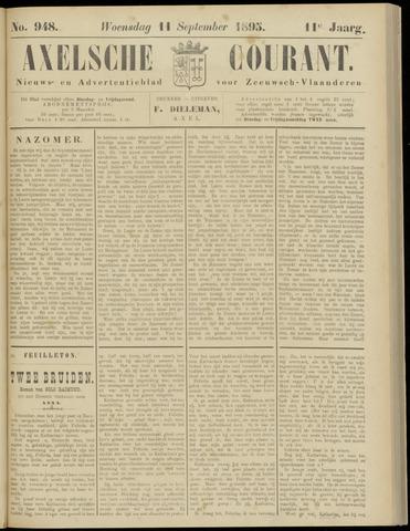 Axelsche Courant 1895-09-11