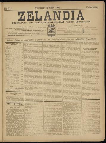 Zelandia. Nieuws-en advertentieblad voor Zeeland | edities: Het Land van Hulst en De Vier Ambachten 1902-03-12