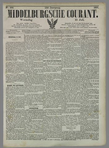 Middelburgsche Courant 1891-07-15