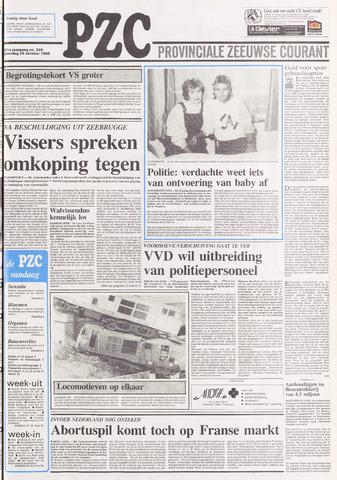 Provinciale Zeeuwse Courant 1988-10-29