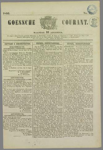 Goessche Courant 1852-08-16