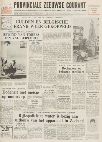 Provinciale Zeeuwse Courant 1971-08-23