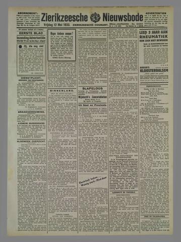 Zierikzeesche Nieuwsbode 1933-05-12