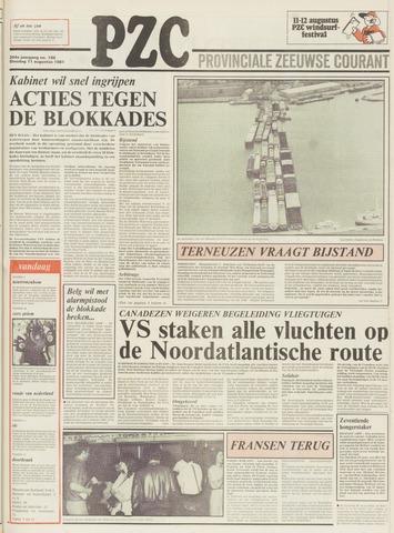 Provinciale Zeeuwse Courant 1981-08-11