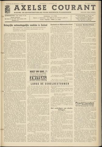 Axelsche Courant 1961-01-14