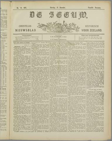 De Zeeuw. Christelijk-historisch nieuwsblad voor Zeeland 1897-11-13