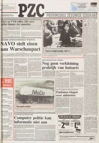 Provinciale Zeeuwse Courant 1988-03-03