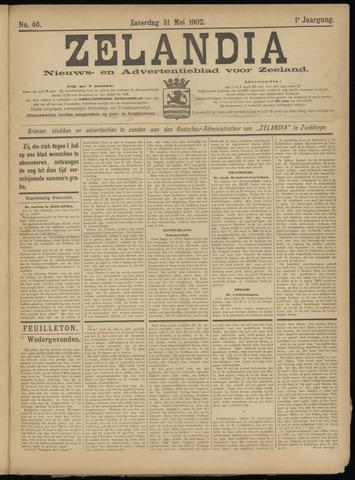Zelandia. Nieuws-en advertentieblad voor Zeeland | edities: Het Land van Hulst en De Vier Ambachten 1902-05-31
