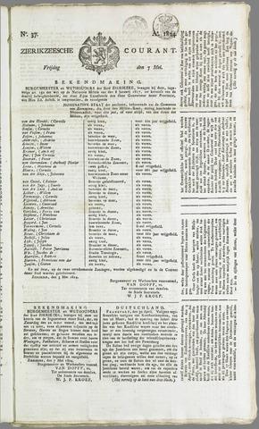 Zierikzeesche Courant 1824-05-07
