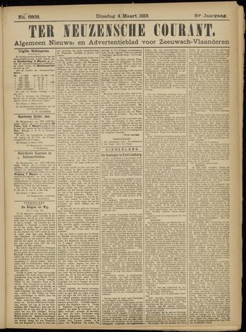 Ter Neuzensche Courant. Algemeen Nieuws- en Advertentieblad voor Zeeuwsch-Vlaanderen / Neuzensche Courant ... (idem) / (Algemeen) nieuws en advertentieblad voor Zeeuwsch-Vlaanderen 1919-03-04