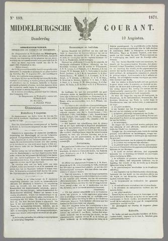 Middelburgsche Courant 1871-08-10