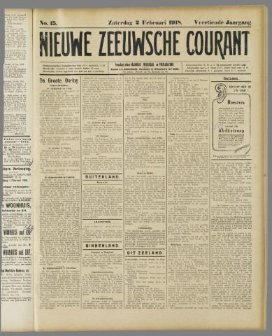 Nieuwe Zeeuwsche Courant 1918-02-02