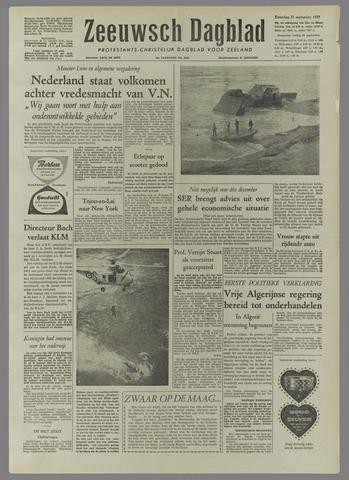 Zeeuwsch Dagblad 1958-09-27