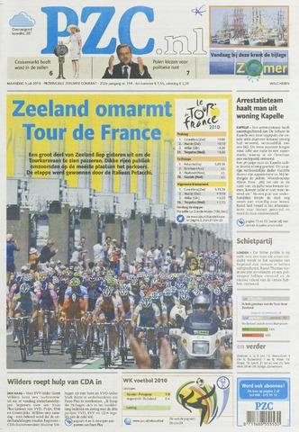 Provinciale Zeeuwse Courant 2010-07-05