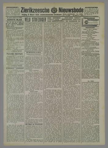 Zierikzeesche Nieuwsbode 1934-03-09