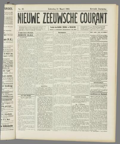 Nieuwe Zeeuwsche Courant 1911-03-11