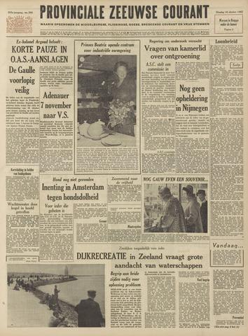 Provinciale Zeeuwse Courant 1962-10-16