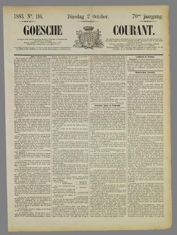 Goessche Courant 1883-10-02