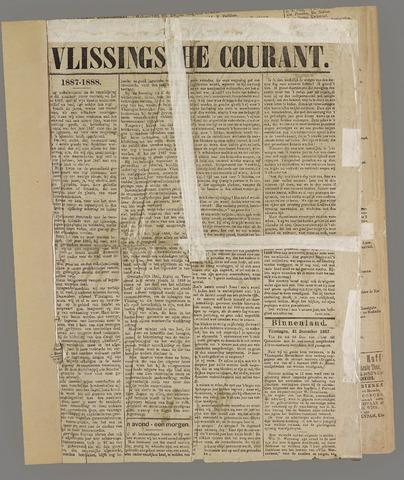 Vlissingse Courant 1888