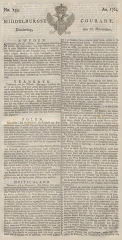 Middelburgsche Courant 1762-11-18