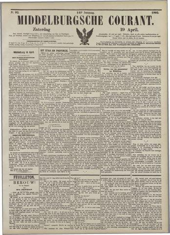 Middelburgsche Courant 1902-04-19