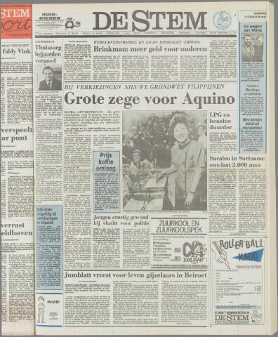 de Stem 1987-02-03