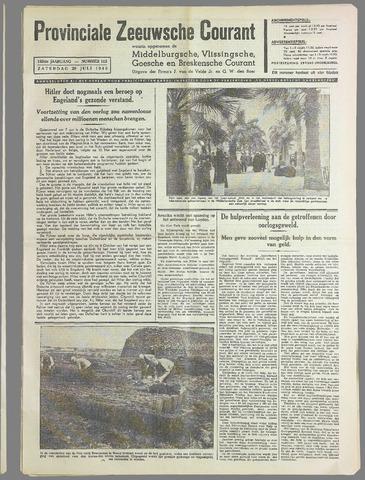 Provinciale Zeeuwse Courant 1940-07-20