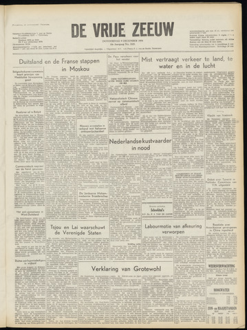 de Vrije Zeeuw 1954-12-09
