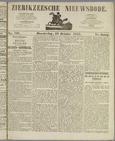 Zierikzeesche Nieuwsbode 1850-10-10