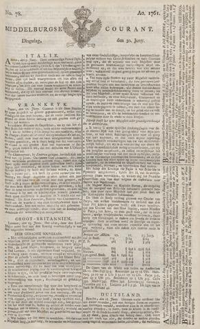 Middelburgsche Courant 1761-06-30