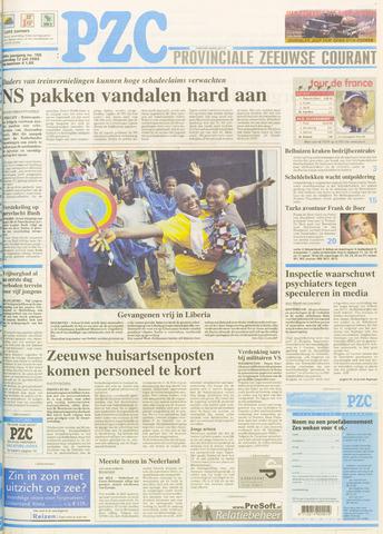 Provinciale Zeeuwse Courant 2003-07-12